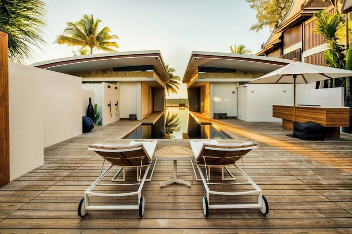 Iniala Beach House - проект архитекторов и дизайнеров из разных стран.