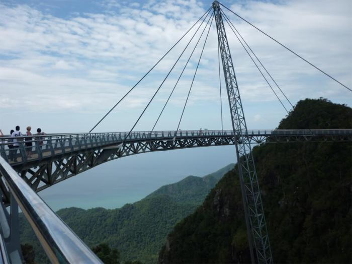 Sky Bridge в Лангкави.