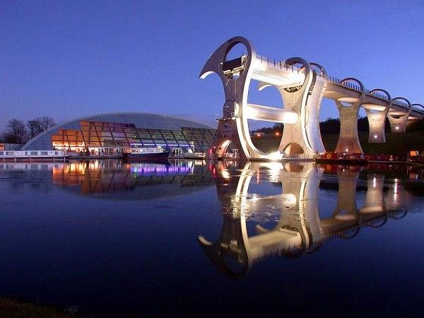 Проект 'Millennium Link' - Falkirk Wheel.