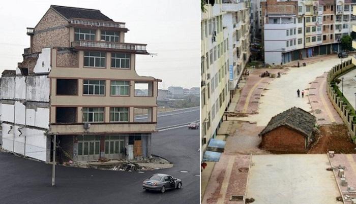Дома, которые хотели снести, но не смогли...