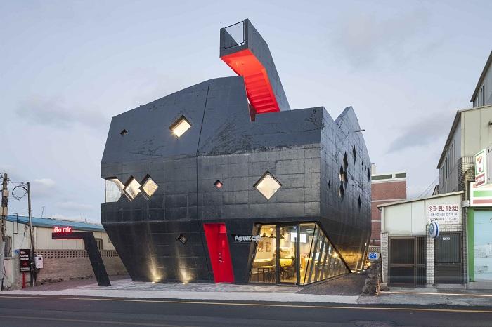 «Go.mir» - здание, олицетворяющее дракона.