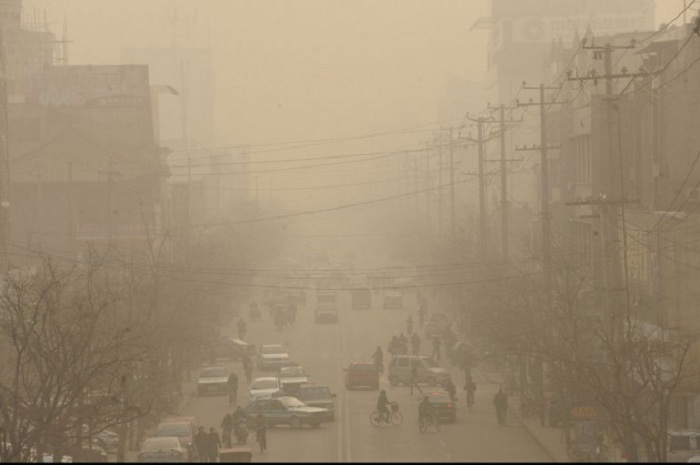 Линьфэнь - самый загрязненный город Китая.