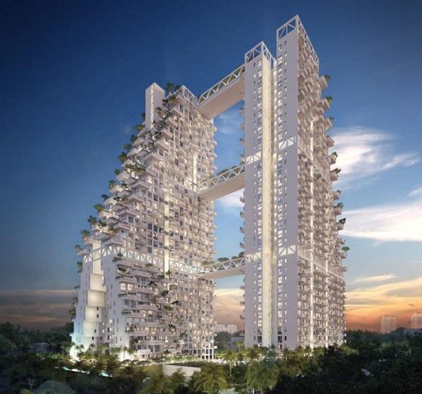 Многоуровневая конструкция Sky Habitat.