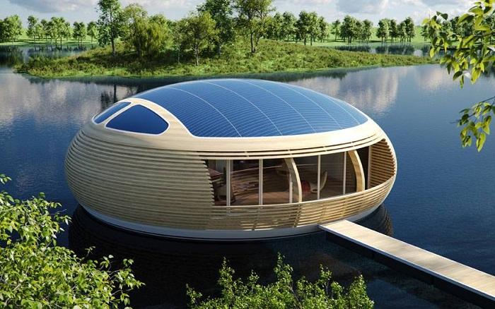 Проект экологического дома архитектора Giancarlo Zema.