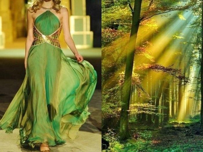 Потрясающие параллели в проекте «Fashion & Nature».