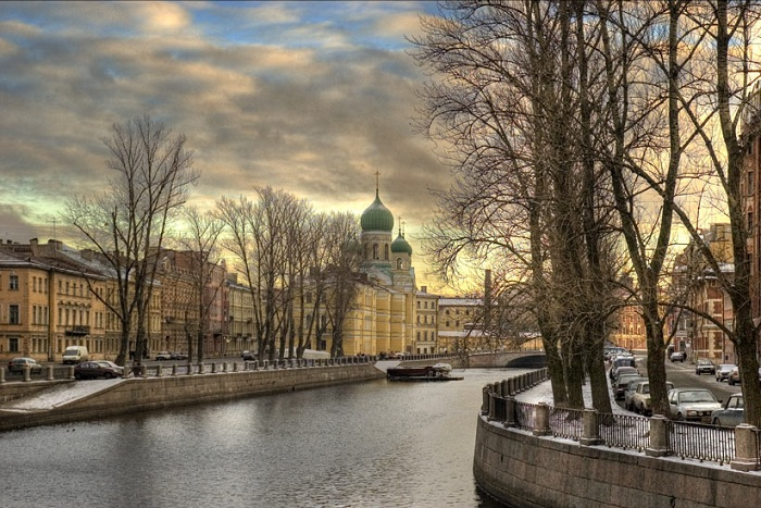 Каналы Санкт-Петербурга.