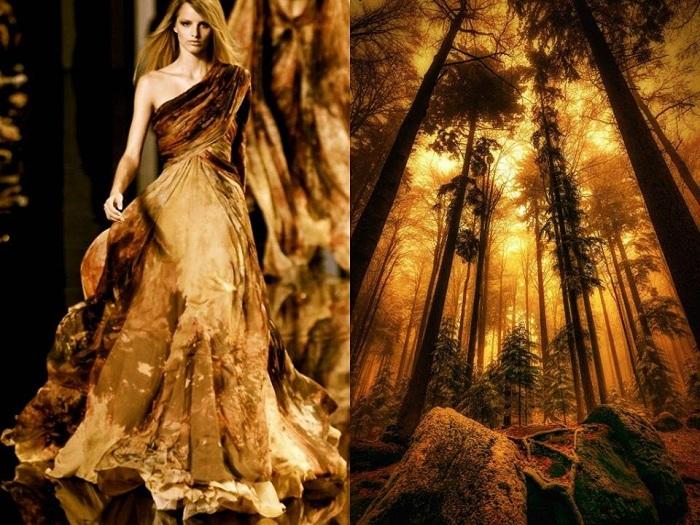 Волшебный лес в проекте Fashion & Nature.