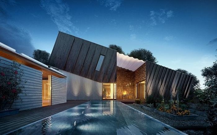 Zeb Pilot House - пример норвежского экодома