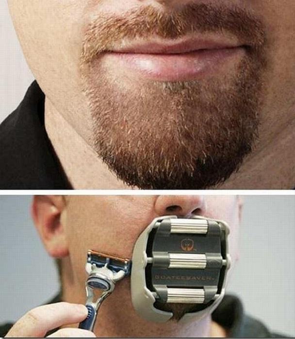 Приспособление для формирования бороды-эспаньолки.