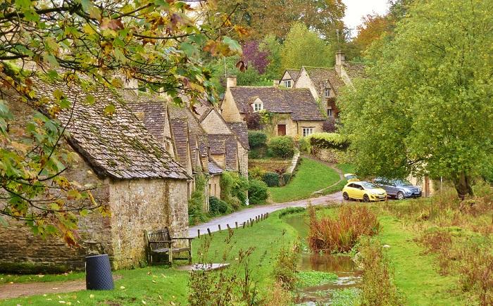 Одна из самых старых деревень Англии.