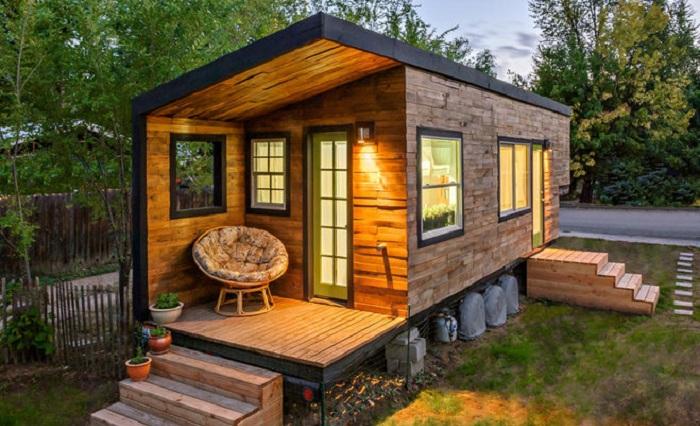 Домик Boise Tiny House площадью 18 кв. метров