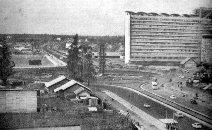 Джакарта. 1960 год.