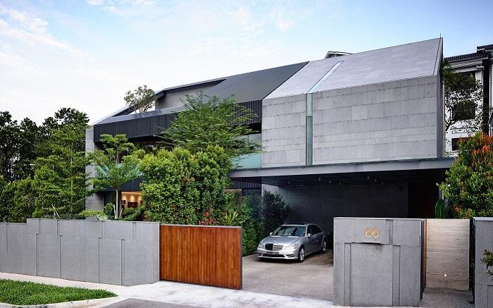«66MRN House». Вид сбоку.