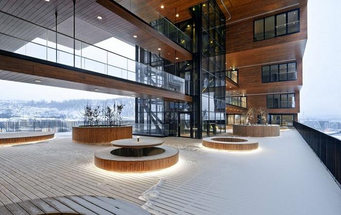 Проект архитектурной фирмы A-Lab.