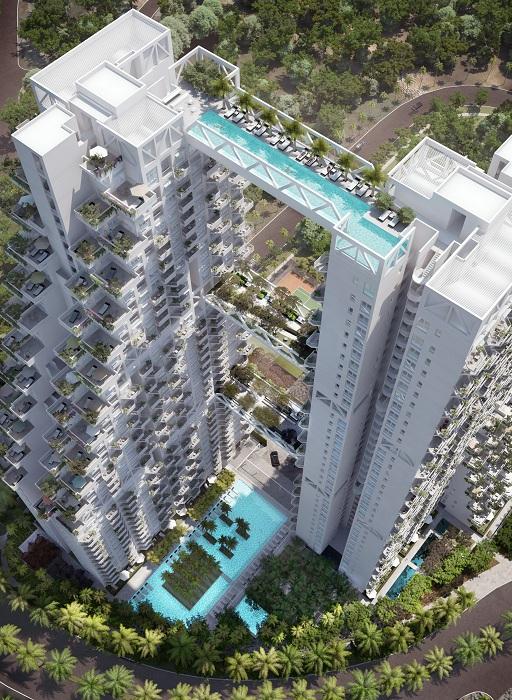 Sky habitat - 38-этажный кондоминиум.