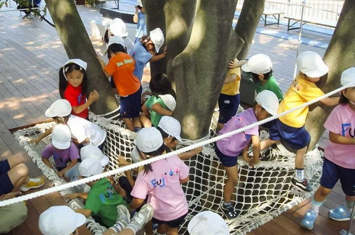 «Коллективная» форма воспитания детей в Японии.