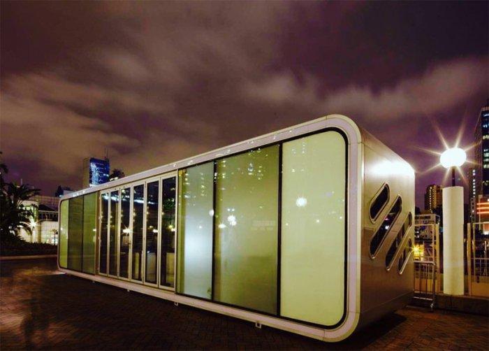 ALPOD - модульный домик площадью 42 кв. метров.