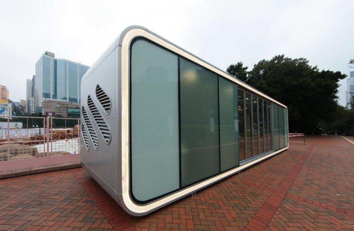 Модульный дом в Гонконге - совместный проект компаний AluHouse, James Law Cybertecture и ARUP.