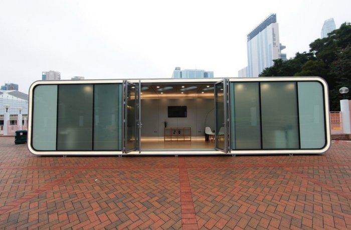 ALPOD - модульный домик площадью 42 кв. метра.
