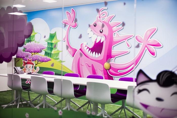 Суперкреативный офис для фирмы King.