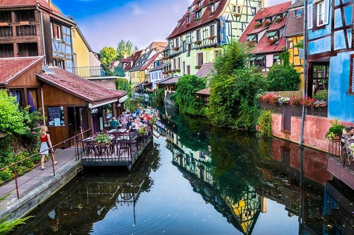 Colmar — самый красивый город Эльзаса.