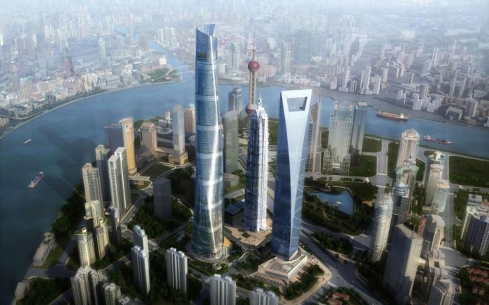 Шанхайская башня - 121-этажное здание в Китае.