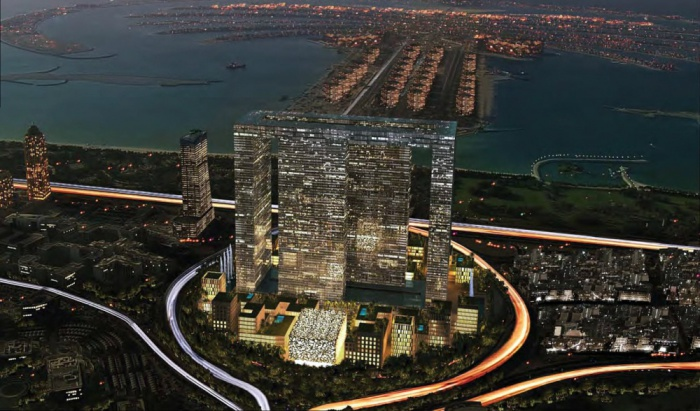 The Dubai Pearl - «город в городе».