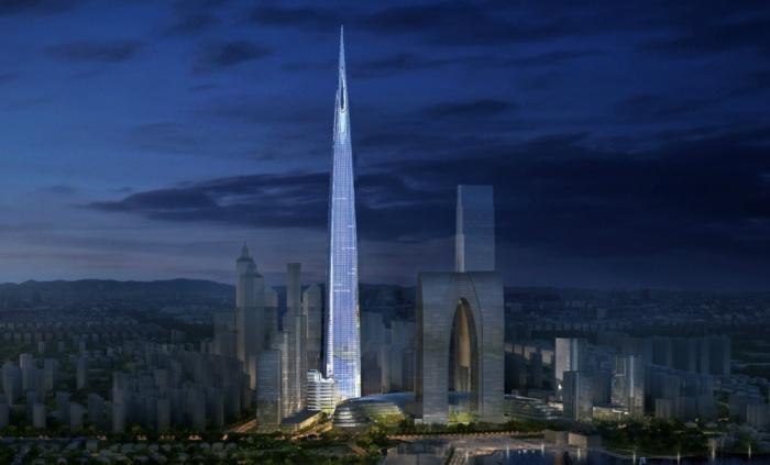 Чжуннань-центр - амбициозный проект самой высокой башни в Китае.