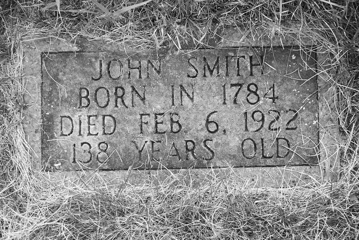 Погребальная табличка Джона Смита.