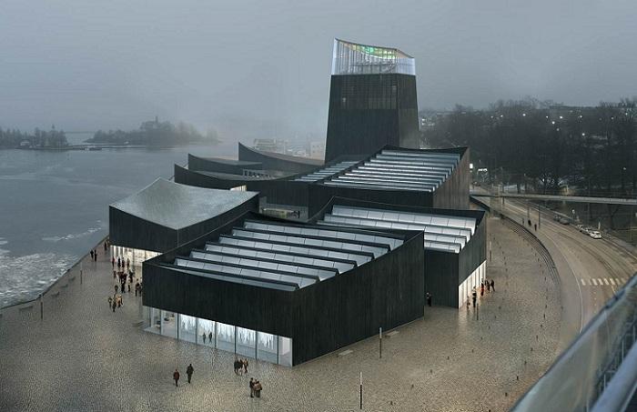 Победитель конкурса на лучший проект Музея Гуггенхайма в Хельсинки.