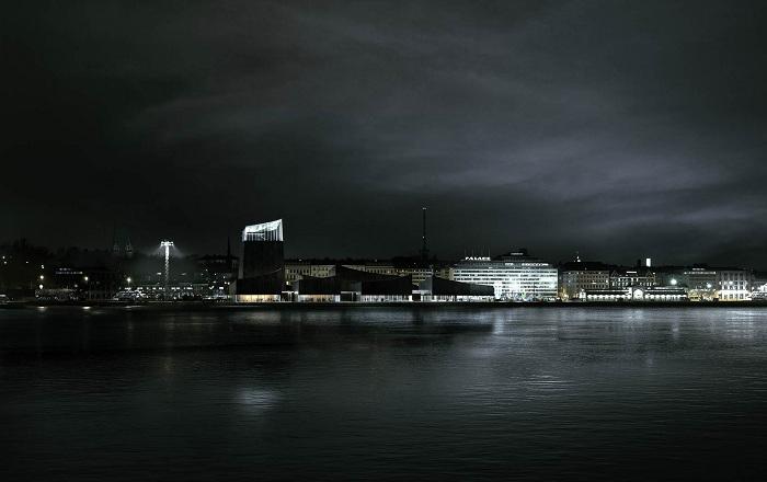 Музей Гуггенхайма в Хельсинки. Проект.