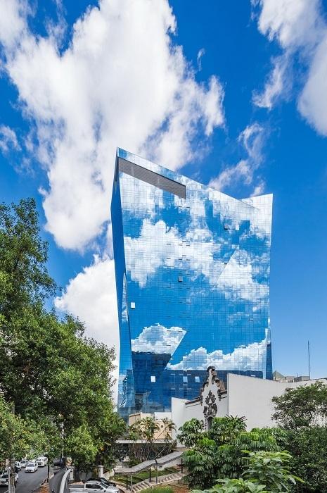 Архитекторский проект польского архитектора Daniel Libeskind.