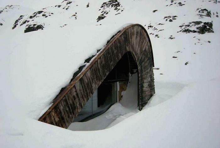 Hunting Lodge - заміський будиночок в Норвегії.