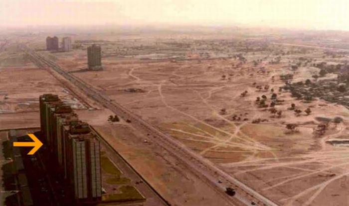 Дубаи. 1991 год.
