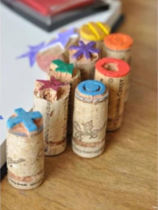 Такие печатки понравятся детям. | Фото: feroce.co.