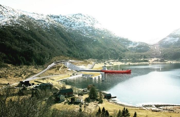 Stad Ship - туннель для кораблей протяженностью 1,7 км.