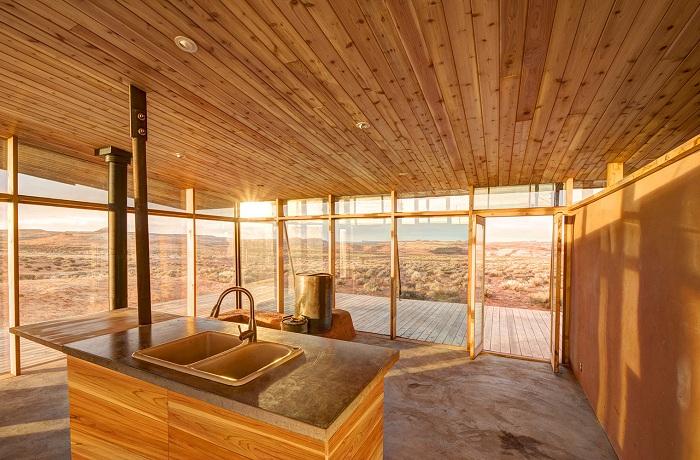 Skow Residence - дом в пустыне.