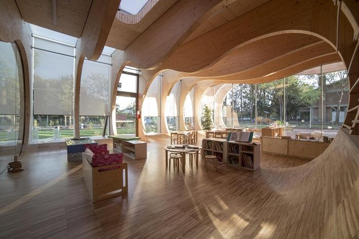 Архитекторский проект бюро Mario Cucinella Architects.