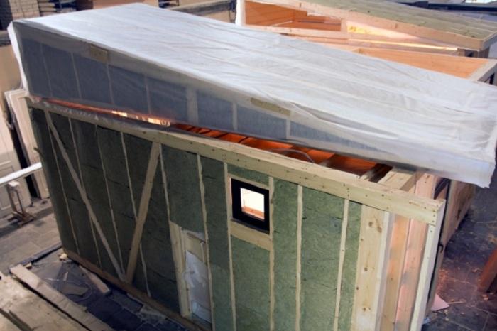 Изготовление Дома-Ковчега производится в заводских условиях.