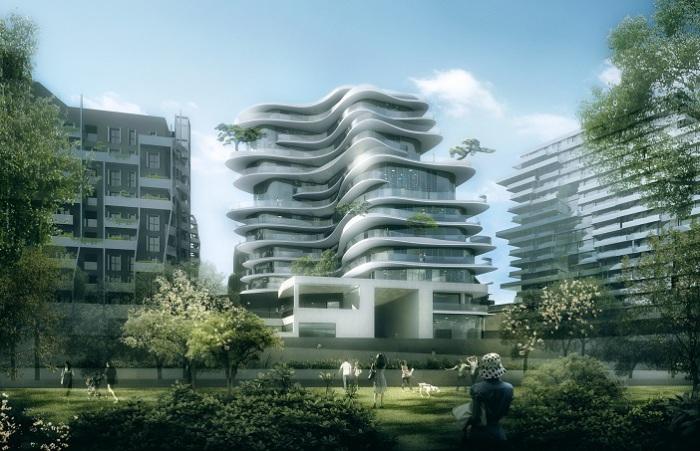 Архитекторский проект от китайского бюро MAD.