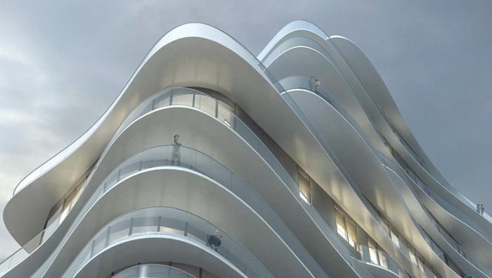 UNIC - жилой комплекс от китайских архитекторов.