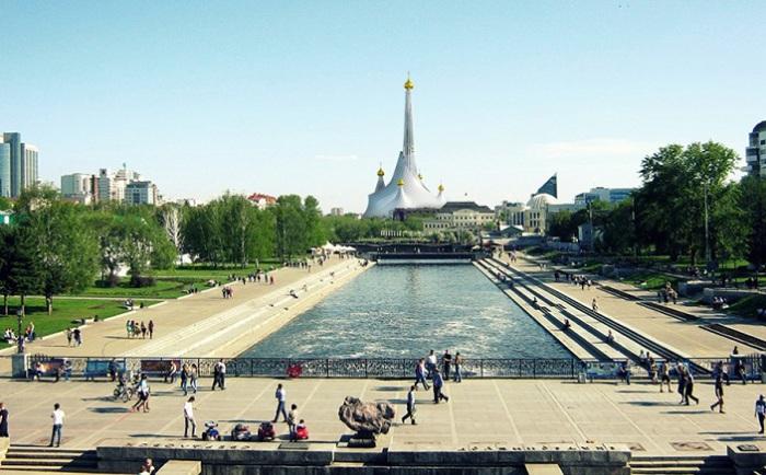 Проект православного храма в Екатеринбурге.
