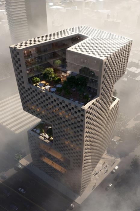 Архитекторский проект норвежско-американской студии Snоhetta.