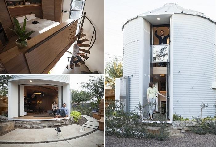 Silo House - компактный дом из силоса.