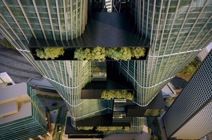 Проект архитектурной фирмы Urban Office Architecture.