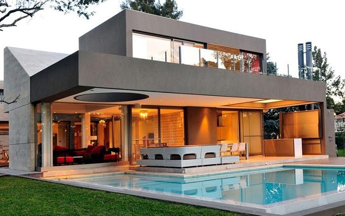 Casa ST56 - особняк с геометрическими формами.