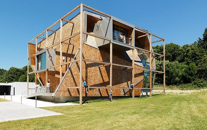 Проект архитектурной фирмы Heri & Salli.