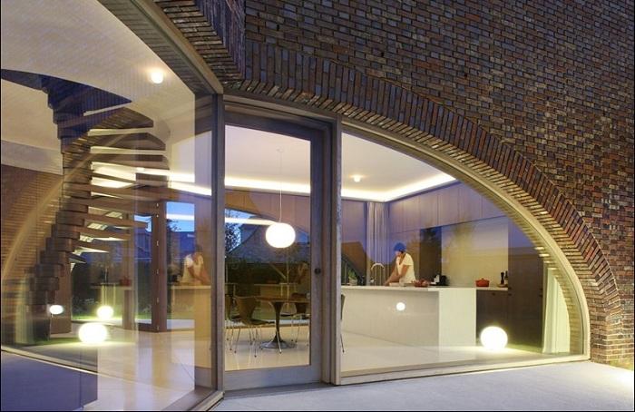 Проект архитектурной фирмы Dieter De Vos Architecten.