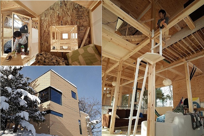 «Nakanosawsgawa» - жилой дом в Японии.