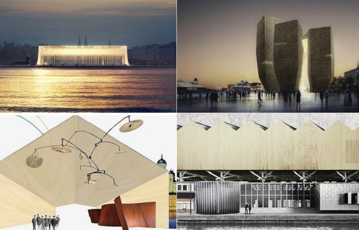 Конкурсные проекты Музея Гуггенхайм в Хельсинки.